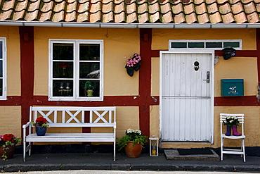 House, Bornholm, Denmark, Europe