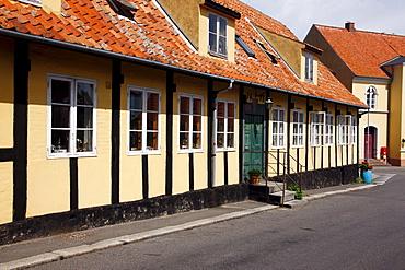 Houses, Bornholm, Denmark, Europe