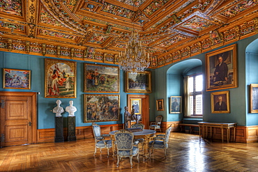 Frederiksborg Castle, interior, Hillerod, Denmark, Europe
