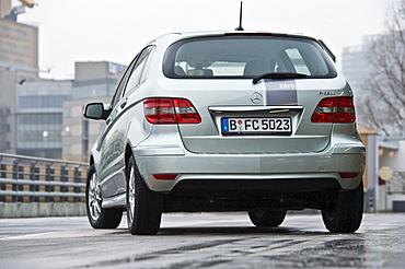 Hydrogen fuel cell vehicle, Mercedes B-class zero-emission, Berlin, Germany, Europe