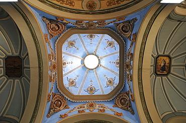 Dome, Cathedral of Santiago de Cuba, Parque Cespedes, Santiago de Cuba, historic town centre, Cuba, Caribbean, Central America