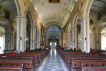 Cathedral of Santiago de Cuba, Parque Cespedes, Santiago de Cuba, historic town centre, Cuba, Caribbean, Central America