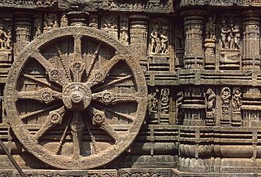 Sun Temple, UNESCO-Weltkulturerbe, Konarak, Konark, Orissa, India, Asia
