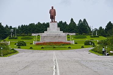 Statue of Kim Il Sung, Kaesong, North Korea, Asia