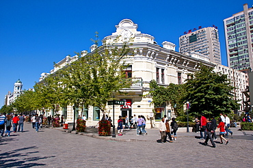 Russian district of Harbin, Heilongjiang province, China, Asia