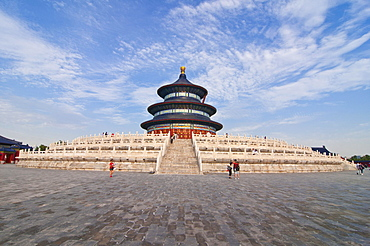 Hall of Prayer for Good Harvests, Temple of Heaven, UNESCO World Heritage Site, Bejing, China, Asia