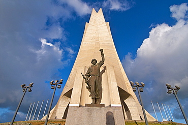 The Monument of the Martyrs in Algiers, Algeria, Africa