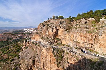 View of Constantine in eastern Algeria, Africa