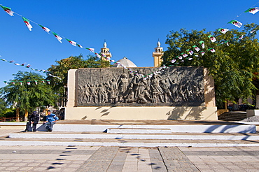 Martyrs' Monument in Tipasa, Algeria, Africa