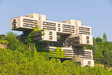 Soviet architecture, Tbilisi, Georgia, Caucasus region, Middle East
