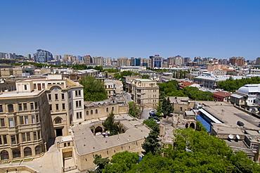 View over Baku, panoramic view, Azerbaijan, Middle East