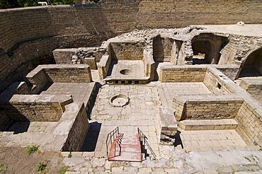 Palace of the Shirvanshahs, excavation site, Shirvan Shahs, Baku, Azerbaijan, Middle East