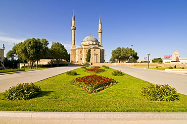 Mosque with minarets, Baku, Azerbaijan, Middle East
