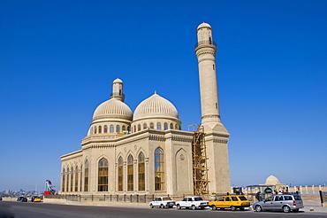 Bibi-Heybat Mosque, Baku, Azerbaijan, Caucasus Region, Eurasia