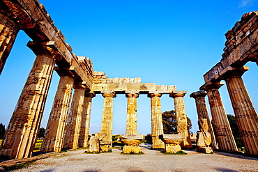 Temple E, Selinunte, Sicily, Italy, Europe
