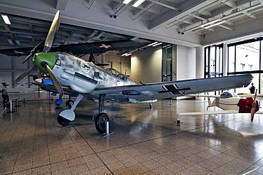 Messerschmitt ME-109 plane, Deutsches Museum German museum, Munich, Bavaria, Germany, Europe