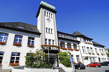 Town Hall, Herdecke, Hagen, North Rhine-Westphalia, Germany, Europe