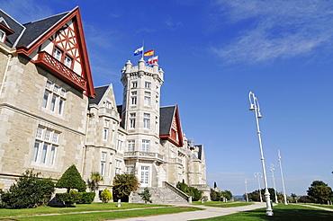 Palacio Real de la Magdalena, Royal Palace, university buildings, Universidad Internacional Menendez Pelayo, Santander, Cantabria, Spain, Europe