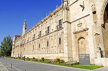 Church, museum, Parador San Marcos Hotel, a former monastery, Plaza San Marcos, Leon, province of Castilla y Leon, Castile and Leon, Spain, Europe