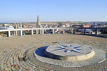 Mirador del Castillo, observation deck, Castle Hill, Burgos, Castilla y Leon province, Spain, Europe