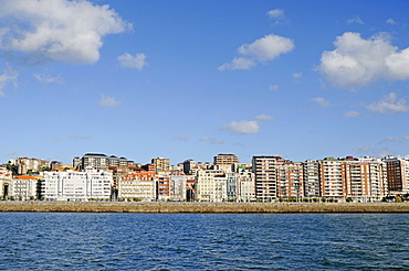 Coastal development, waterfront, Santander, Cantabria, Spain, Europe