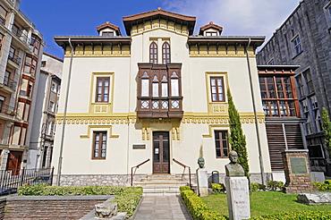 Menendez Pelayo Museum, writer's house, library, Santander, Cantabria, Spain, Europe