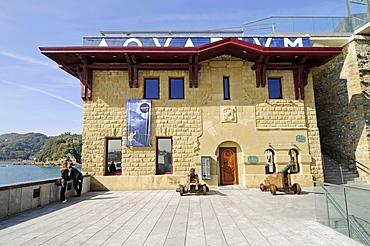 Aquarium, harbour area, San Sebastian, Pais Vasco, Basque Country, Spain, Europe