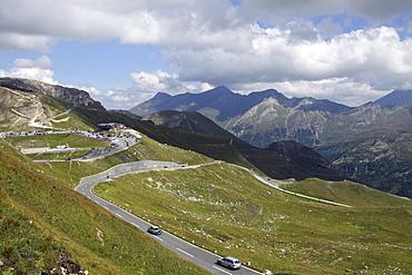 Grossglockner mountain, Grossglockner High Alpine Road, Hohe Tauern National Park, Carinthia, Austria, Europe
