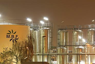 Mannheim Bio Fuel, biodiesel production company, Mannheim, Baden-Wuerttemberg, Germany, Europe