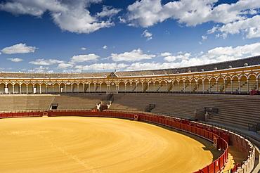 Bullring, Seville, Andalucia, Spain, Europe