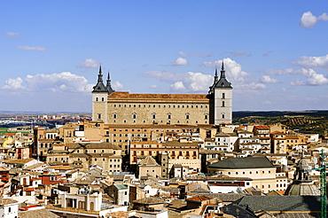 Alcazar, Toledo, Castile-La Mancha, Spain, Europe