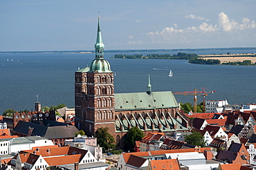 Nikolaikirche church, Unesco World Heritage Site, Stralsund, Mecklenburg-Western Pomerania, Germany, Europe