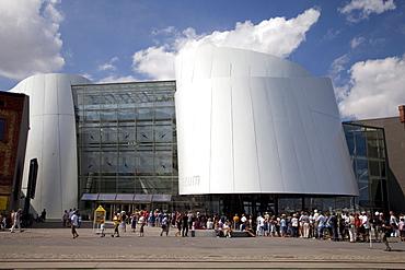 Ozeaneum, German Oceanographic Museum, port, Stralsund, UNESCO World Heritage Site, Mecklenburg-Western Pomerania, Germany, Europe