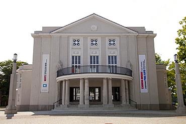 Theater Vorpommern, Stralsund, UNESCO World Heritage Site, Mecklenburg-Western Pomerania, Germany, Europe