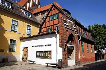 Cultural History Museum, Stralsund, Unesco World Heritage Site, Mecklenburg-Western Pomerania, Germany, Europe