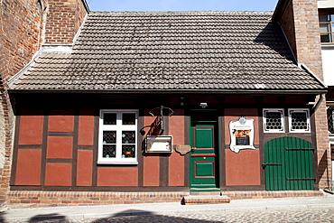 Torschliesserhaus, restaurant, Stralsund, Unesco World Heritage Site, Mecklenburg-Western Pomerania, Germany, Europe