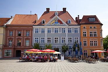 Alter Markt marketplace, Stralsund, Unesco World Heritage Site, Mecklenburg-Western Pomerania, Germany, Europe