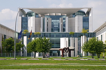 Federal Chancellery, Government Quarter, Berlin, Germany, Europe