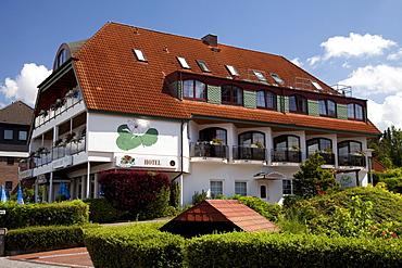 Hotel Seerose, Bad Malente-Gremsmuehlen, Naturpark Holsteinische Schweiz nature park, Schleswig-Holstein, Germany, Europe