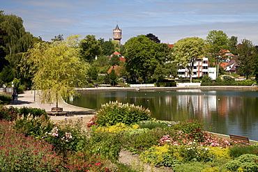 Lake Eutiner See, Eutin, Naturpark Holsteinische Schweiz nature park, Schleswig-Holstein, Germany, Europe
