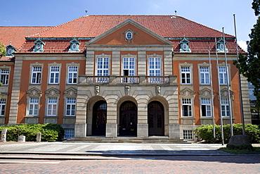 District Office, Eutin, Naturpark Holsteinische Schweiz, nature park, Schleswig-Holstein, Germany, Europe