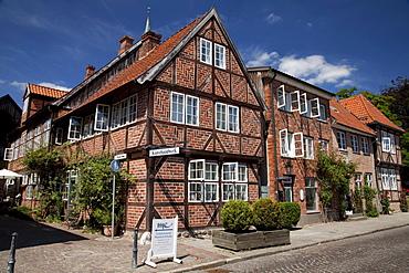 Historic old town, Eutin, Naturpark Holsteinische Schweiz, nature park, Schleswig-Holstein, Germany, Europe