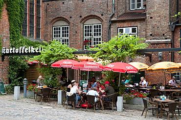 Restaurant Kartoffelkeller, Naturpark Holsteinische Schweiz nature park, Schleswig-Holstein, Germany, Europe