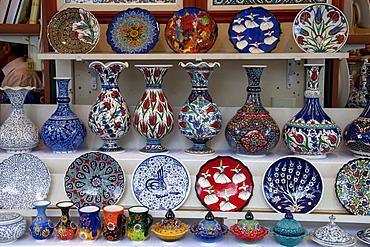 Souvenirs, bazaar, Selcuk, Lycia, Turkey, Asia