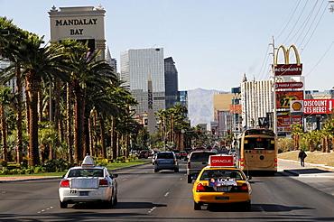Las Vegas Boulevard, Las Vegas, Nevada, USA