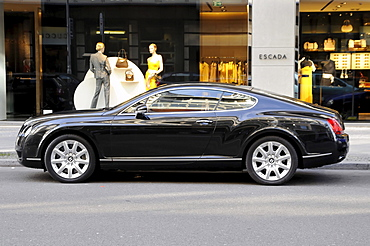 Bentley, luxury car, Friedrichstrasse street, Berlin, Germany, Europe