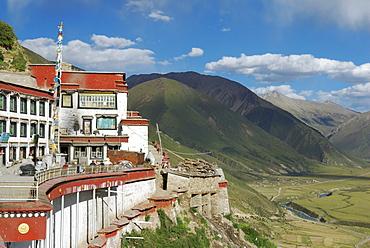 Drigung Til Monastery, Tibet, China, Asia