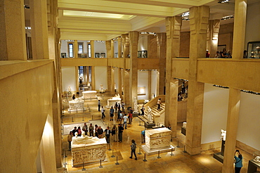 Interior of the National Museum, Beirut, Beyrouth, Lebanon, Middle East, West Asia