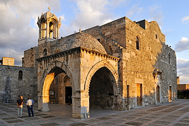 Historic Maronite church at Byblos, Unesco World Heritage Site, Jbail, Lebanon, Middle east, West Asia