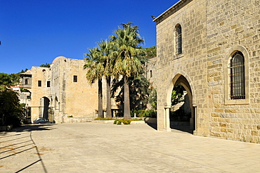 Historic palace in the historic town of Deir el-Qamar, Chouf, Lebanon, Middle East, West Asia